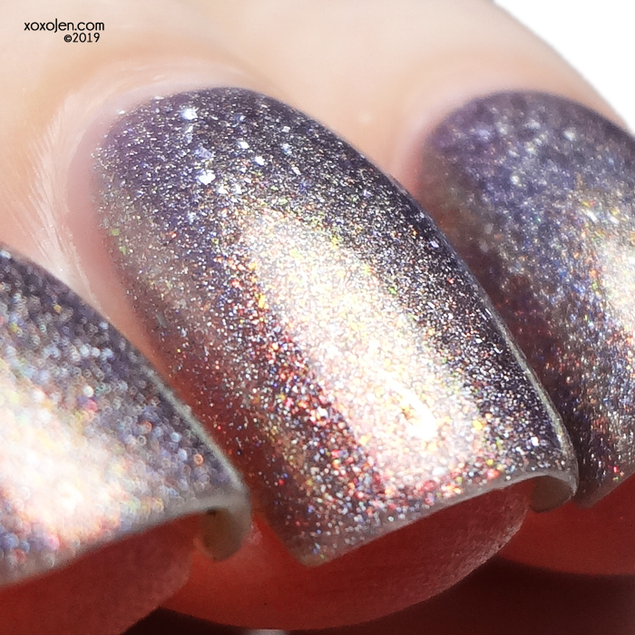xoxoJen's swatch of Blush Midnight Moonbow