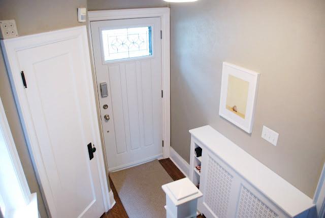 The Entry Way Rambling Renovators