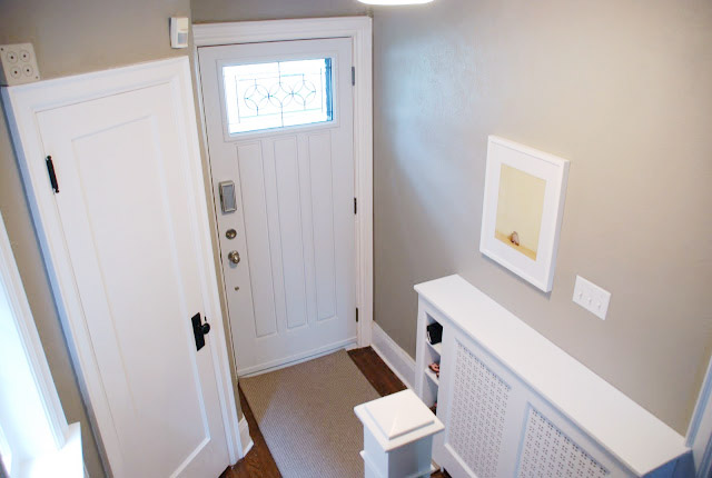 DIY Radiator Cover with storage cubbies | Ramblingrenovators.ca