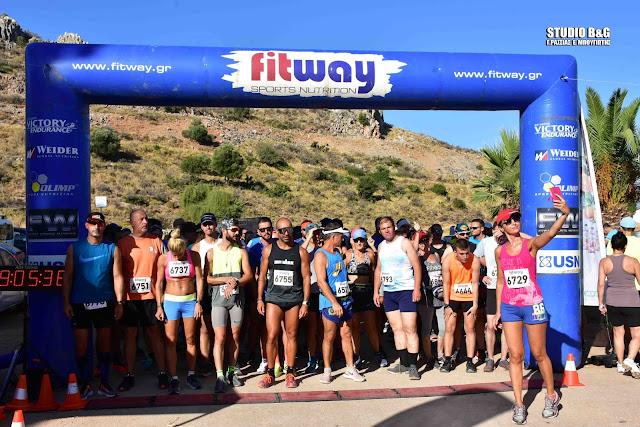 Με περισσότερους από 250 αθλητές πραγματοποιήθηκε ο 2ος Αγώνας Καραθώνας - Αβανιτιάς στο Ναύπλιο