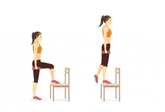 Chair Exercises For Abs: 8 Minute Tiny Waist Flat
