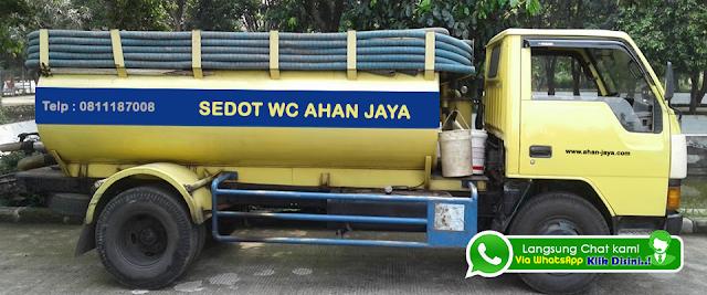 Jasa Sedot WC Penuh Mampet Tambun WA 0811187008