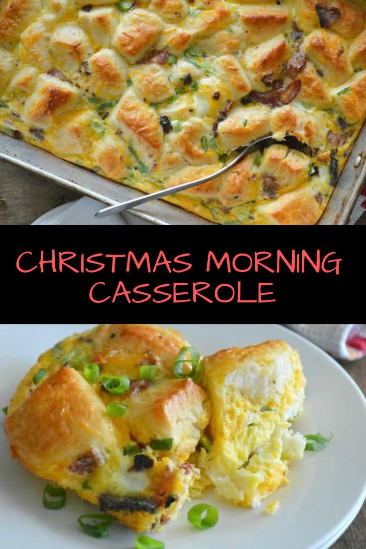CHRISTMAS MORNING CASSEROLE RECIPE