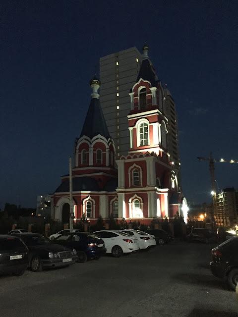 Храм Екатерины ЗЖМ Ростов