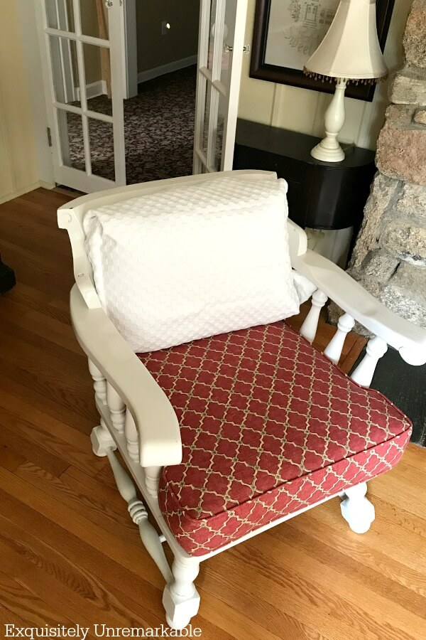 Covering Furniture With Pillow Shams