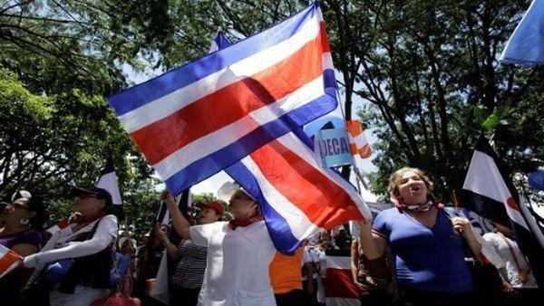 Denuncian proyecto de ley que regulariza protestas en Costa Rica