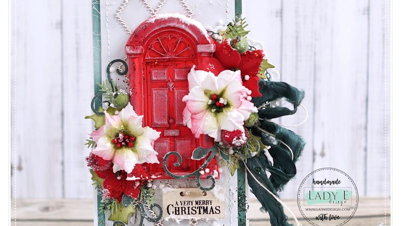 Red Door Christmas Card 2020