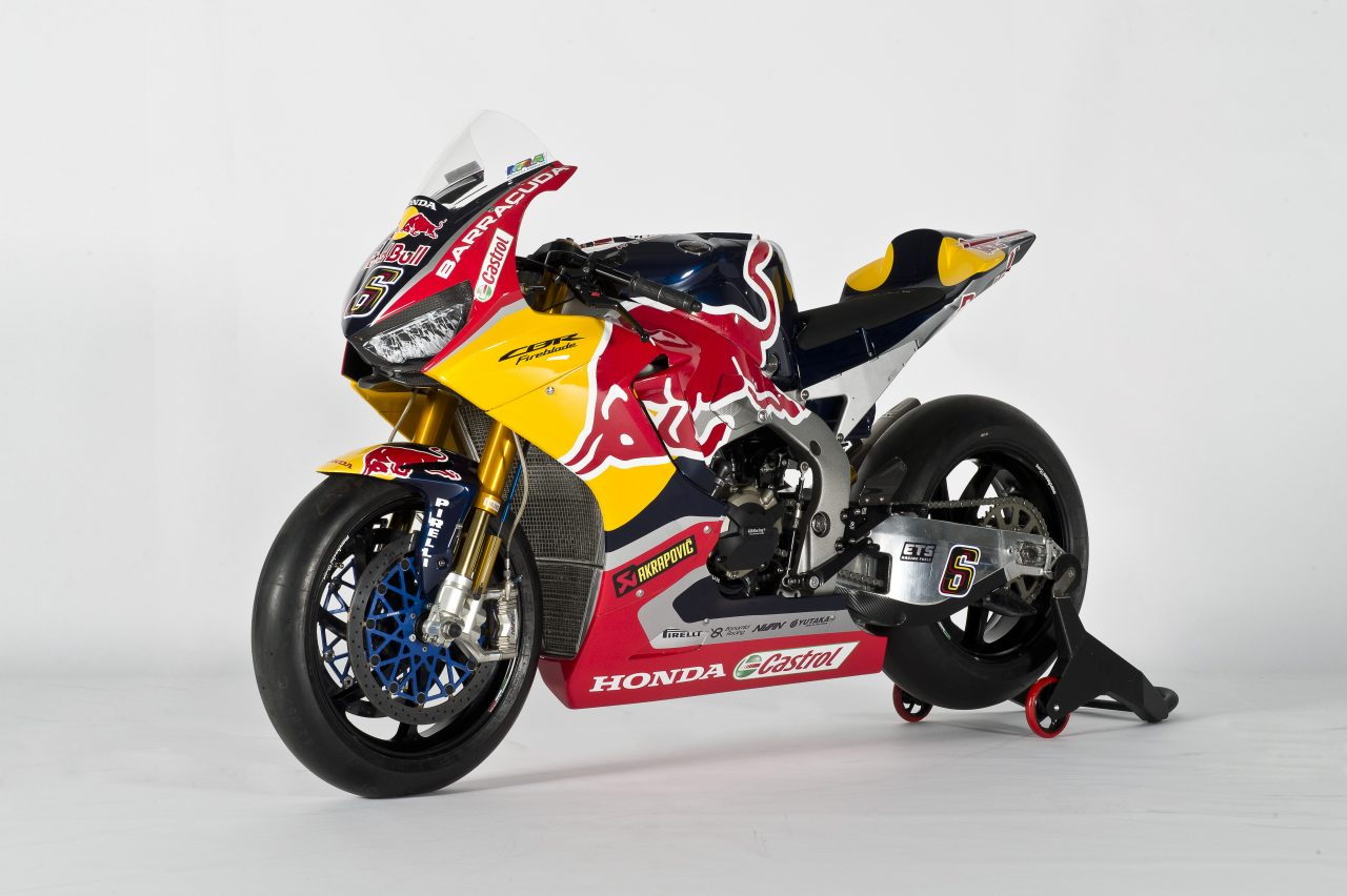 racing caf honda cbr 1000 rr sp2 red bull honda world superbike team 2017. Black Bedroom Furniture Sets. Home Design Ideas