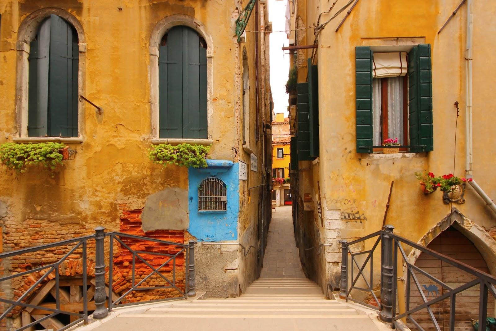 Le Chameau Bleu - Flaneries à Venise - Pont - Week end en Italie
