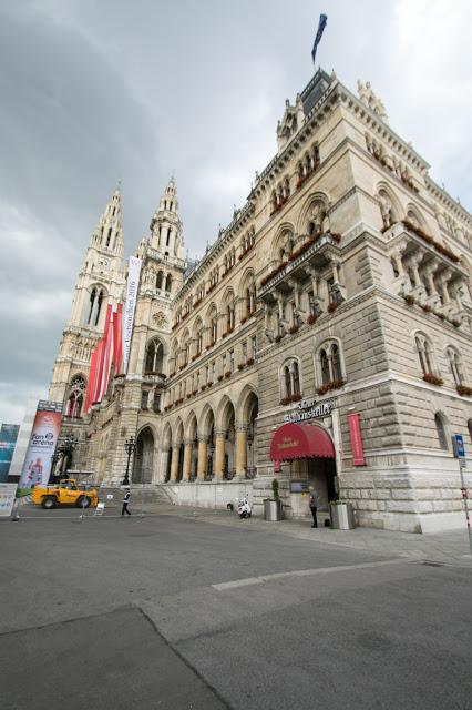 Rathaus (Municipio) di Vienna