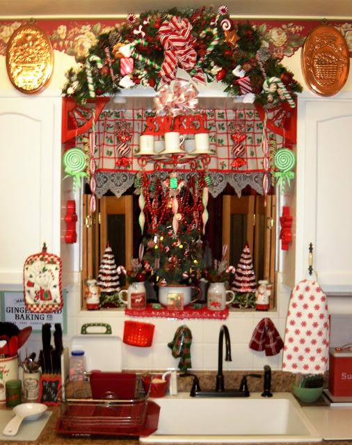 Christmas Home Tour, Kitchen, Vignettes, 2019