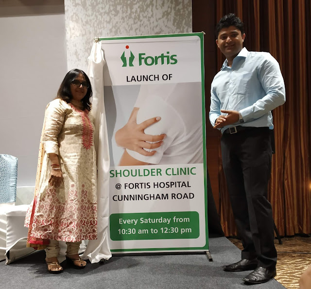 Fortis Hospital, Bangalore inaugurates their First Shoulder Clinic, catering to sports injuries