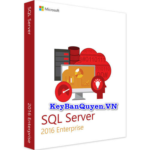 Mua bán key bản quyền SQL Server 2016 Enterprise 64 Bit.