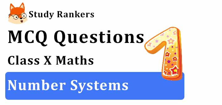 MCQ Questions for Class 9 Maths: Ch 1 Number Systems