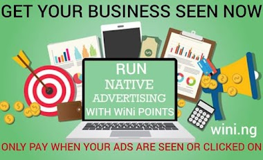 Run Advert on Wini Social Network and get more Referrals For Free
