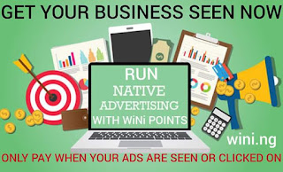 Run adverts on Wini and get more referrals for free