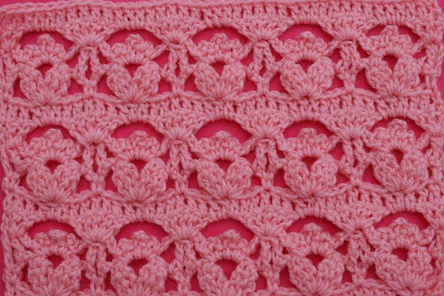 4-Crochet Imagen Puntada de flores a crochet y ganchillo por Majovel Crochet