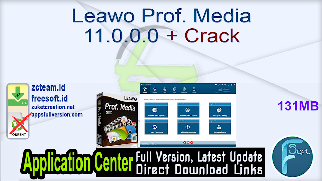 Leawo Prof. Media 11.0.0.0 + Crack_ ZcTeam.id