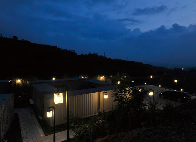 Boutique Hotel Built from Shipping Containers, China 12