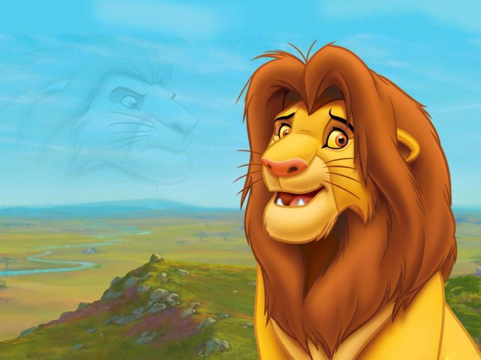 95 Foto Gambar Kartun Singa Terlihat Cantik