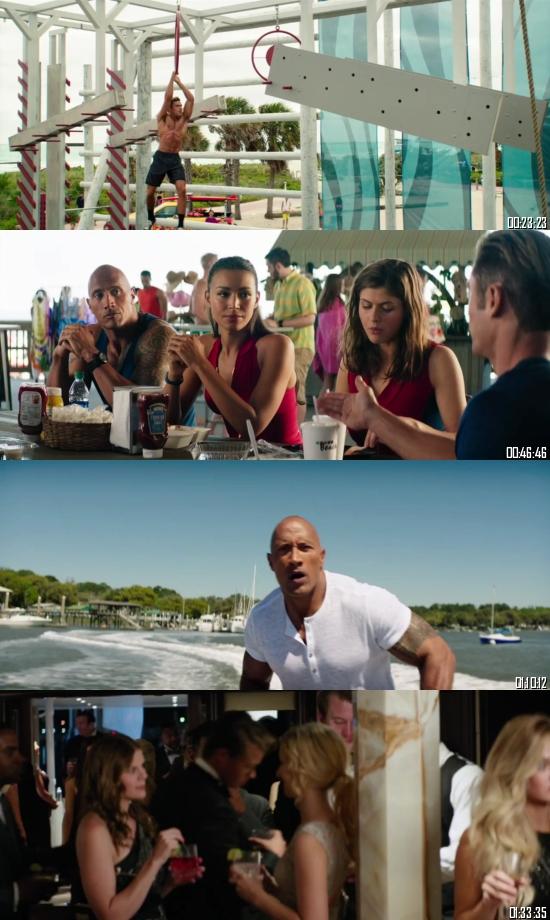 Baywatch 2017 BRRip 720p 480p Dual Audio Hindi English Full Movie Download