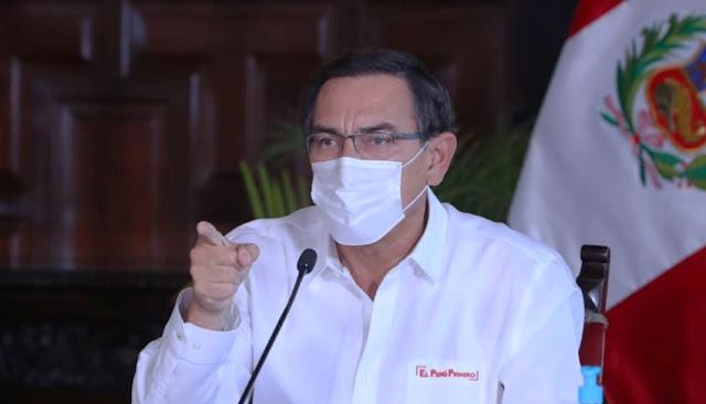 Martín Vizcarra pide sancionar a discotecas