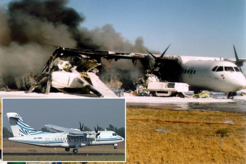 Chris Fatswe, Air Botswana incident (1999)