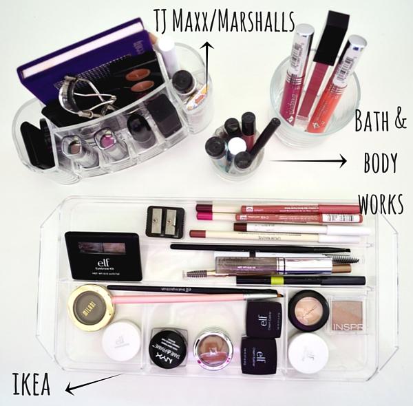consejos organizar maquillaje