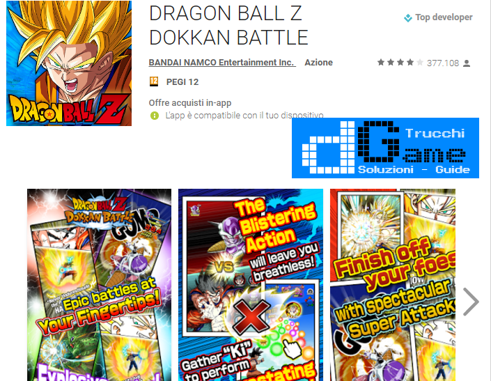 Trucchi DRAGON BALL Z DOKKAN BATTLE Mod Apk Android v3.0.1