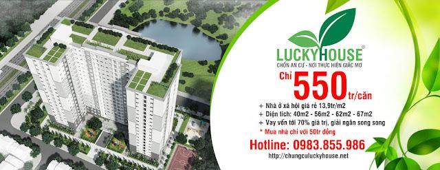 Nhà ở Xã Hội Lucky House Kiến Hưng Hà Đông