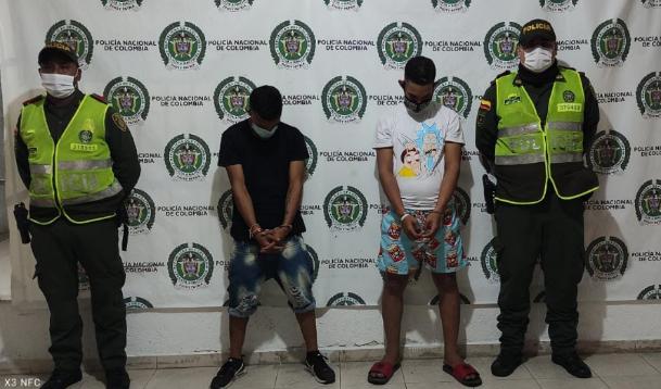 hoyennoticia.com, Capturados después de robar en una casa