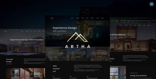Best Interactive Interior Template