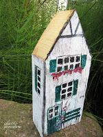 Holzhaus Deko