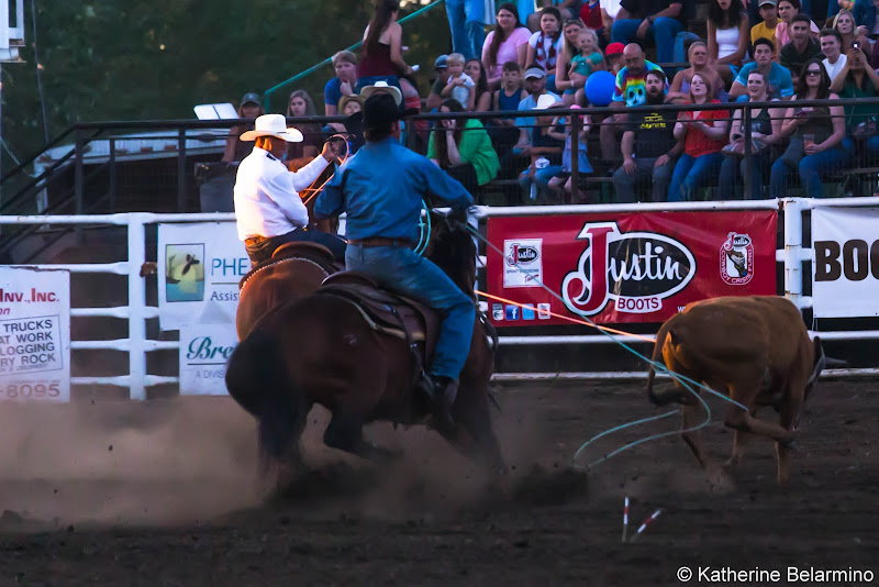 Molalla Buckeroo PRCA Rodeo Team Roping Things to Do In Oregon City and Mt. Hood Territory