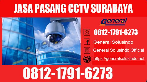 Jasa Pasang CCTV Wonokromo Surabaya