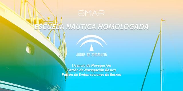 EMAR escuela náutica homologada por la Junta de Andalucía