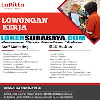 Bursa Kerja Surabaya di Laritta Bakery Shop Terbaru Oktober 2019