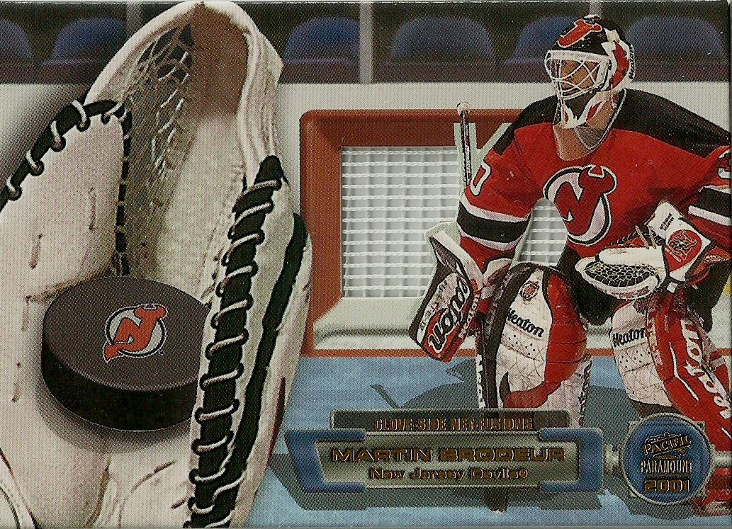Hell S Valuable Collectibles Martin Brodeur Net Fusions Card
