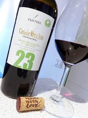 Fantini Casale Vecchio Lot 23 Montepulciano d'Abruzzo 2019 (88 pts)