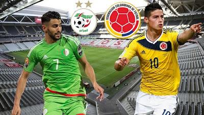 مشاهدة مباراة الجزائر وكولومبيا بث مباشر اليوم 15-10-2019 في مباراة ودية
