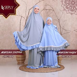 Koleksi Mukena Couple Mom Kids Terbaru Seply