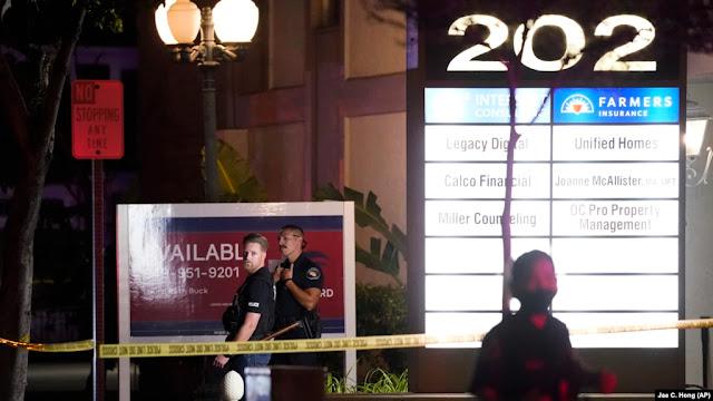 Polisi ungkap Empat Orang Tewas dalam Penembakan di Gedung Perkantoran di California