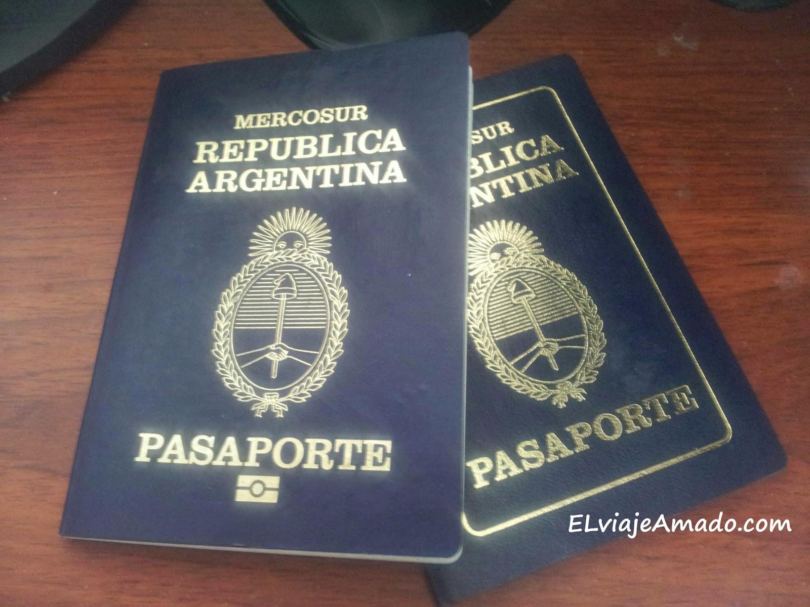 Sacando el nuevo pasaporte argentino el viaje amado for Pasaporte ministerio interior
