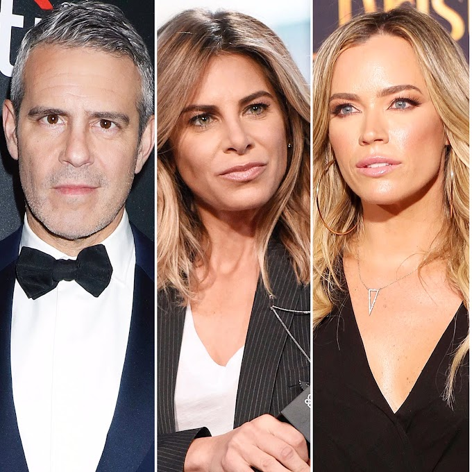Jillian Michaels Reignites Feud With Andy Cohen And Slams Teddi Mellencamp Arroyave's Accountability Program!