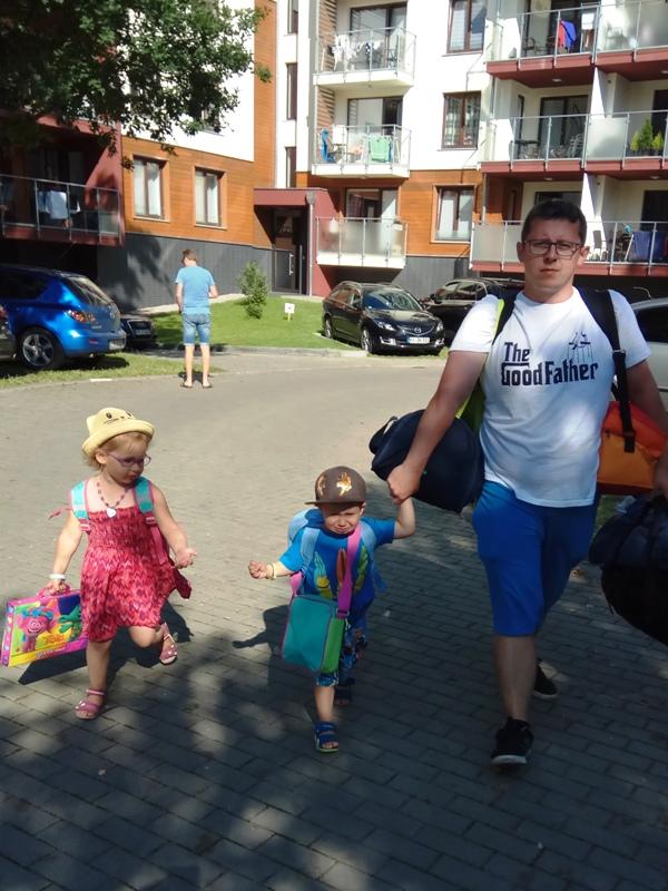 Apartament polanki w Kołobrzegu - wyjazd