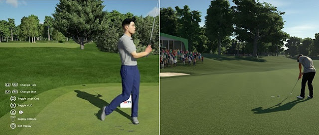 Differences in gameplay in PGA Tour 2K21 vs The Golf Club 2019