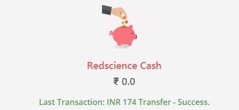 redscience cash
