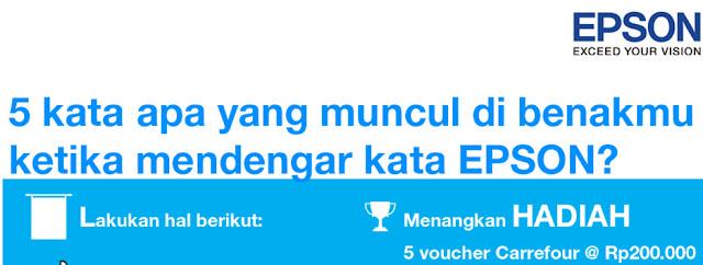 Pemenang Kuis Kuis Epsonia Edisi Februari 2016
