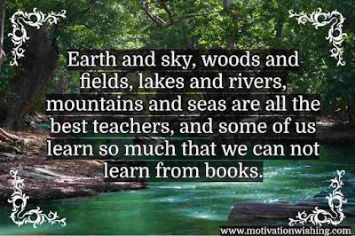 Inspirational Nature Quotes