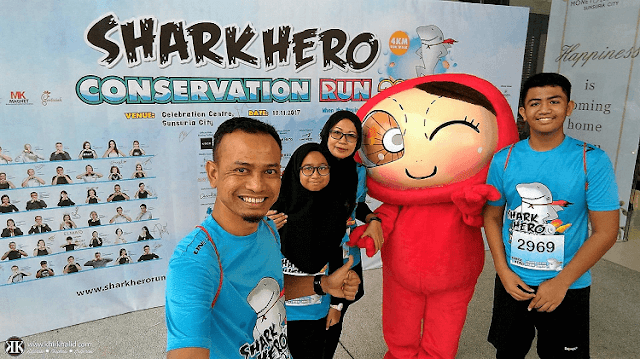 Shark Hero Conservation Run 2017, Sunsuria City Sepang, SHCR 2017,